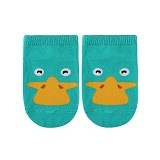 ABBY BABY Animal Ankle Sock Duck Size M (Merchant) - Kaos Kaki Bayi dan Anak