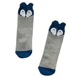 ABBY BABY Wild Fox High Knee Sock Size S - Grey (Merchant) - Kaos Kaki Bayi dan Anak