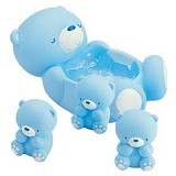 ABBYBEAR Baby Powder Case With Puff - Baby Bath Tub and Accesories