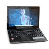 ACER Aspire E1-451G - Black (Merchant) - Notebook / Laptop Consumer Amd Quad Core