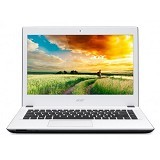 ACER Aspire E5-473 Non Windows (Core i3-4005U - Nvidia 2GB) - White - Notebook / Laptop Consumer Intel Core I3