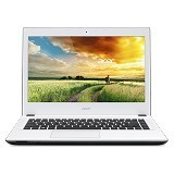 ACER Aspire E5-473 Non Windows (Core i3-4005U - Nvidia 2GB) - Cotton White - Notebook / Laptop Consumer Intel Core I3