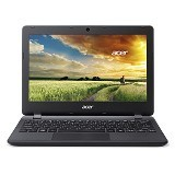 ACER Aspire ES1-131 Non Windows (Celeron N3050) - Black (Merchant) - Notebook / Laptop Consumer Intel Celeron
