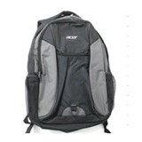 ACER Backpack Bag [LZ.BPKM6.B03] - Black Grey