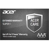 ACER Extended Warranty Super 1 [EW.SUPER.100] - Notebook Option Extended Warranty