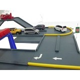 ACTION CITY Miniatur Jalan Raya Hotwheel dan Tomica [JL001] (Merchant) - Die Cast