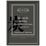 ACTIVA Miracle White Black Peel Off Mask - Masker Wajah