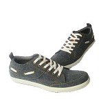 ADABOS Dorado Denim Size 43 [1501] - Grey - Sneakers Pria