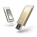 ADAM ELEMENTS iKlips Flash Drive 64GB [CC4714781443876] - Gold - Usb Flash Disk Dual Drive / Otg