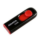 ADATA Classic 16GB [C008] - Black (Merchant) - Usb Flash Disk Basic 2.0