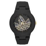 ADIDAS Aberdeen Silicone Watch [ADH3047] - Black (Merchant)
