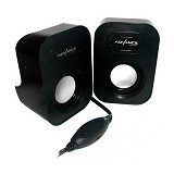 ADVANCE Speaker Duo [026] - Black (Merchant) - Speaker Portable