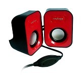 ADVANCE Speaker Duo [026] - Red (Merchant) - Speaker Portable