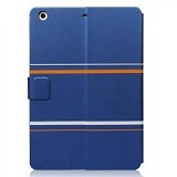 AHHA Dual Color Flip Case for iPad Air 2 Sykes Mix 2 - Grey/Blue - Casing Tablet / Case