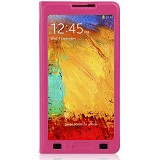 AHHA Flip Case Derby Magic Galaxy Note 3 - Buble Gum Pink - Casing Handphone / Case