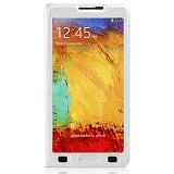 AHHA Flip Case Derby Magic Galaxy Note 3 - Sugar White - Casing Handphone / Case