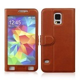 AHHA Joy Magic Flip Cover Casing for Samsung Galaxy S5 - Terracota (Merchant) - Casing Handphone / Case