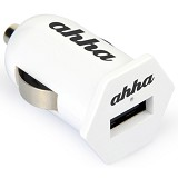 AHHA Kangaroo Single Usb Car Charger 1,5A - White - Car Kit / Charger