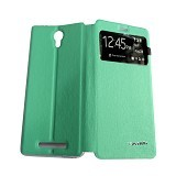 AIMI Flip Cover Fitur View for Xiaomi Redmi Note 2 - Tosca (Merchant) - Casing Handphone / Case