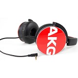 AKG On Ear Headphone With Mic [Y50] - Red - Headphone Portable