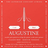 ALBERT AUGUSTINE Classic Red String Set Medium Tension - Senar Gitar