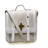 ALIBI Paris Sinclair Bag - White (Merchant) - Satchel Bag Wanita