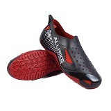 ALL BIKE AP Boots Size 42 - Black Red (Merchant) - Sepatu Hiking & Trail Running Pria