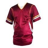 ALL SPORT Baju Olahraga Size M [BB 001 MP] - Maroon - Jersey Pria