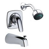 AMERICAN STANDARD Saga In Wall Single-Lever Bath & Shower Mixer [WF-1521.601.50]