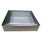 ANEKARETAIL Loyang Kue Kotak - Loyang / Baking Pan