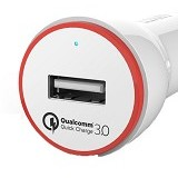 ANKER PowerDrive+ 1 with Quick Charge 3.0 [A2210022] - White (Merchant) - Car Kit / Charger
