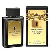 ANTONIO BANDERAS The Golden Secret For Men EDT 100 ml (Merchant) - Eau De Toilette untuk Pria