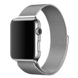 ANYCASE INDONESIA Milanese Loop Apple Watch Band - Silver (Merchant) - Jam Tangan Pria Fashion