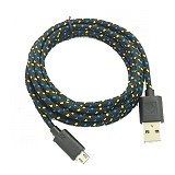ANYLINX Cable Micro USB Net 1M - Hitam - Cable / Connector Usb