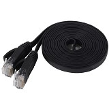 ANYLINX Cable Networking 2 Meter Cat6 - Hitam - Network Cable UTP