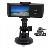 ANYLINK Camera Dual cam CCTV Mobile H990 - Hitam - Gps & Tracker Aksesori