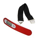 ANYLINK Digital Luggage Scale - Red - Timbangan Digital