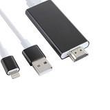 ANYLINX Kabel IPhone / Lightning To HDMI MHL 2M - Black