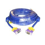 ANYLINX Kabel VGA 3+9  Super High Quality 10M - Blue - Cable / Connector Vga
