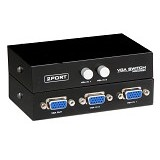 ANYLINX Switch/Selector Video VGA 2 to 1 - Hitam - Audio / Video Switch Box