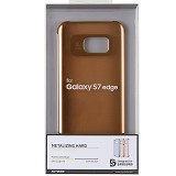 ANYMODE Metalizing Hard Samsung Galaxy S7 Edge - Orange (Merchant) - Casing Handphone / Case