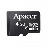 APACER Micro SDHC 4GB Class 4 (Merchant) - Micro Secure Digital / Micro Sd Card