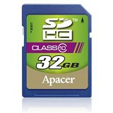 APACER SDHC 32GB - Class 10 - Secure Digital / SD Card