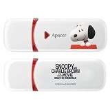 APACER USB2.0 Flash Drive 8 GB [AH333] - Snoopy & Charlie Brown the Movie - Usb Flash Disk Basic 2.0