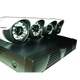 APEXIS 4 Channel HD IP Camera Package - Ip Camera