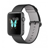 APPLE Watch 42mm Space Grey Aluminum [MMFR2ID/A] - Black Nylon - Smart Watches