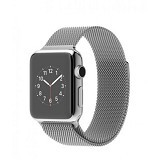 APPLE Watch 42mm Stainless Steel Case with Milanesse Loop - Smart Watches