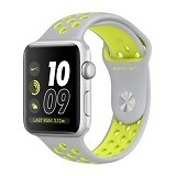 APPLE Watch Nike+ 38mm Aluminium Sport [MNYP2] - Silver Volt (Merchant) - Smart Watches