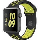 APPLE Watch Nike+ 38mm Aluminium Sport [MP082] - Black Volt (Merchant) - Smart Watches