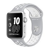 APPLE Watch Nike+ 42mm Aluminium Sport [MNNT2] - Silver White (Merchant) - Smart Watches